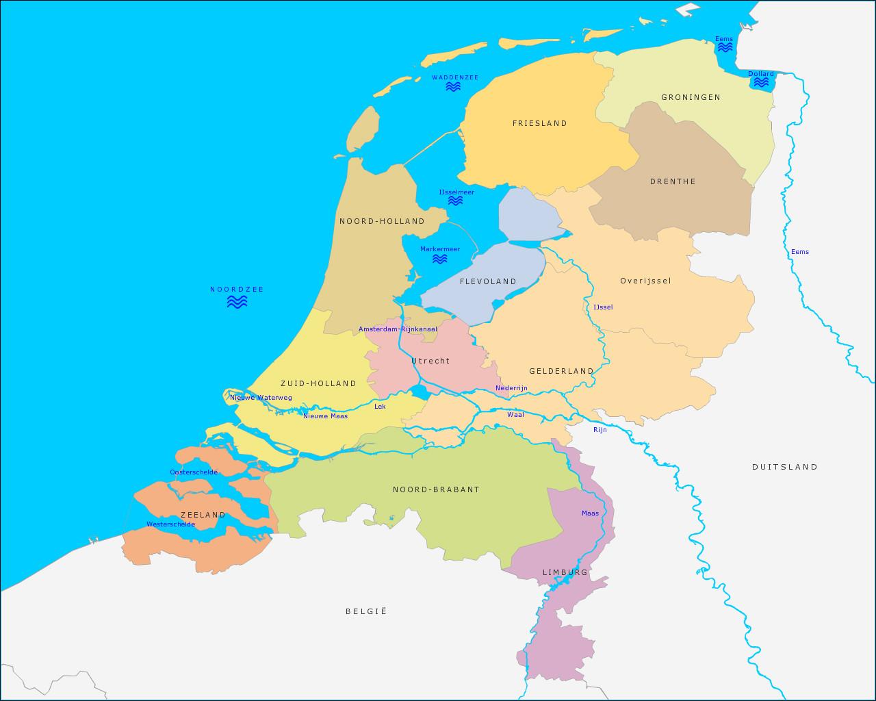 grote-rivieren-en-wateren-van-nederland