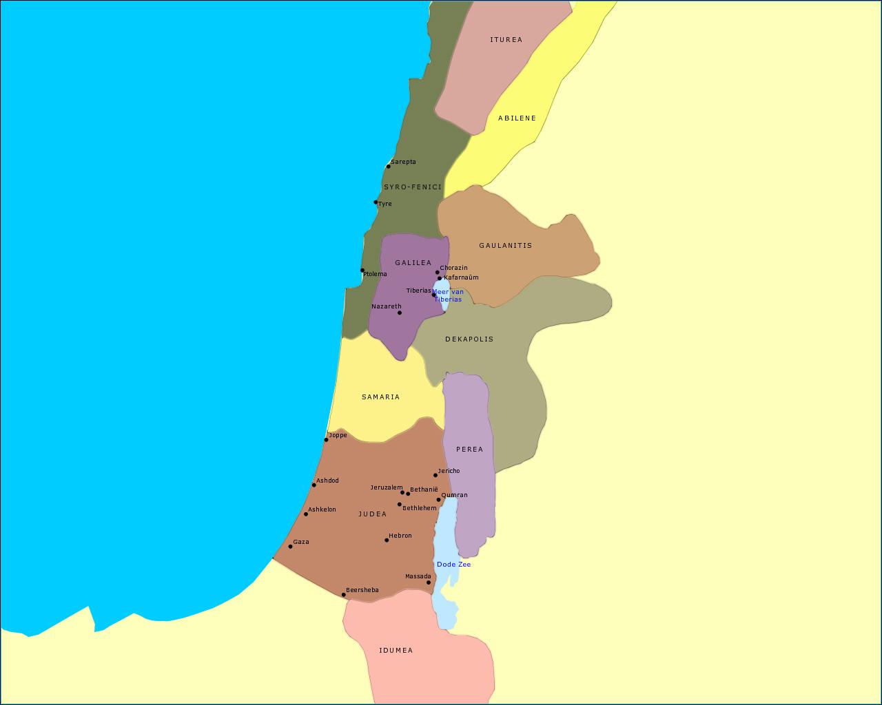 palestina-ten-tijde-van-het-nieuwe-testament