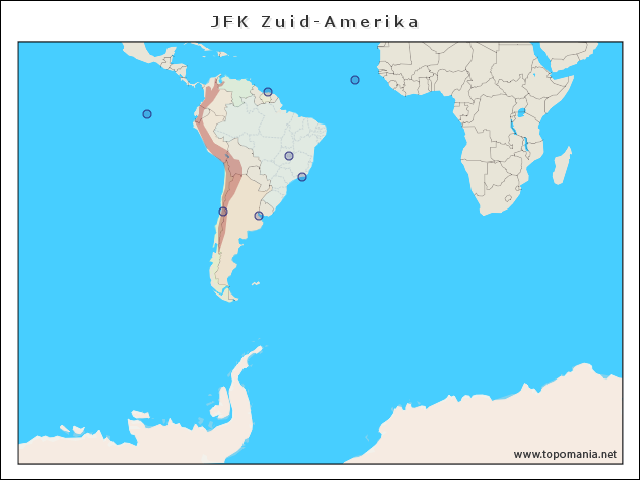 jfk-zuid-amerika