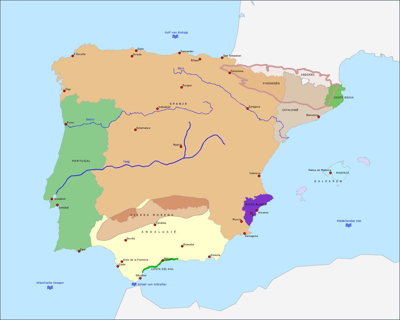 spanje-en-portugal