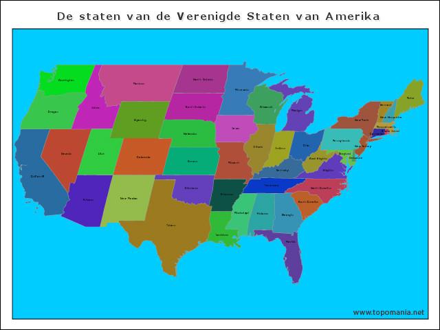 de-staten-van-de-verenigde-staten-van-amerika