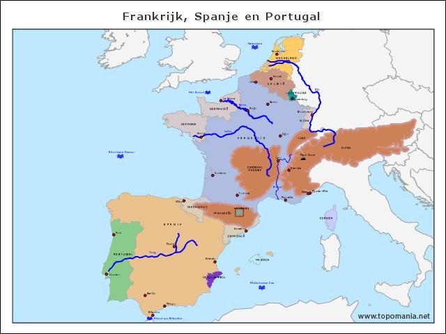 frankrijk-spanje-en-portugal