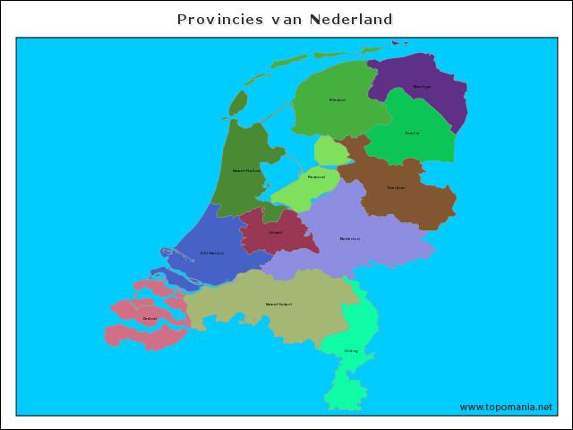 provincies-van-nederland