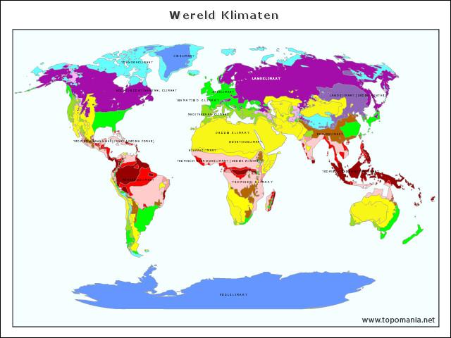 wereld-klimaten